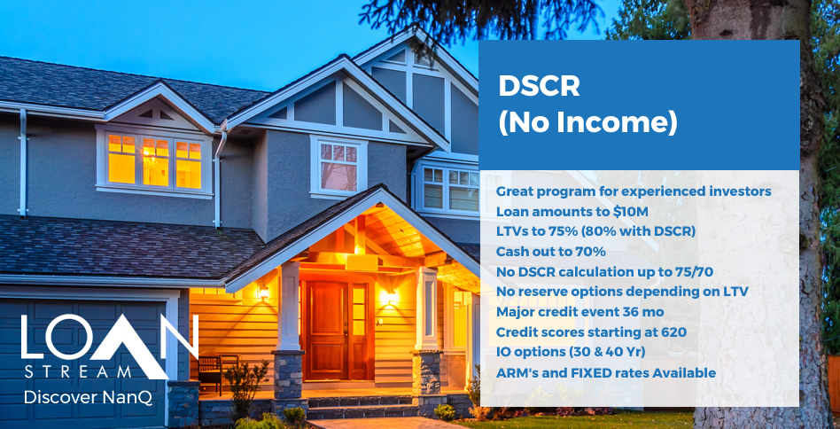 DSCR No Income Program